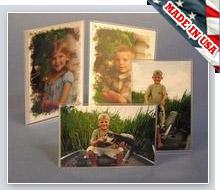 Slant Picture Frames