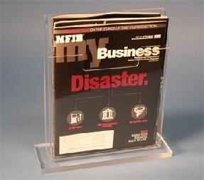 Brochure Holder with Base 6x9