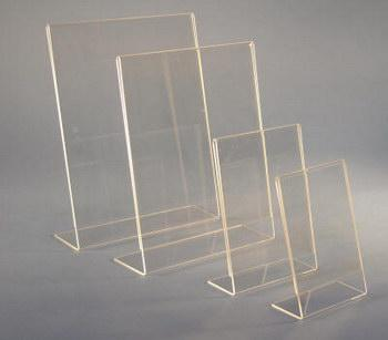 Absolute Acrylic Inc Product Details Slant Back Picture Frames